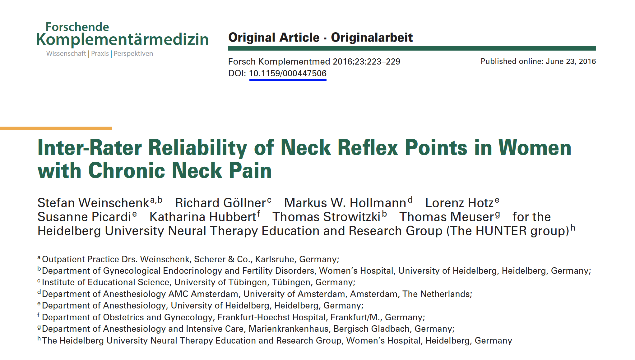 STEFAN 2016 NECK REFLEX POINTS